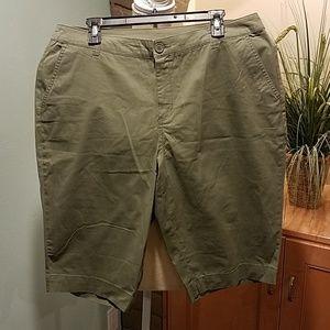 *NWT Khaki Shorts, Size 14